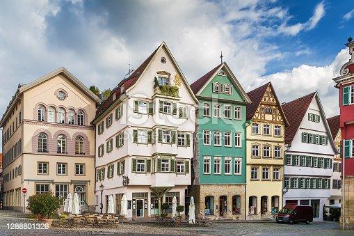 istock Square in Esslingen am Neckar, Germany 1288801326