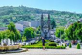 Square in Guimaraes, Portugal