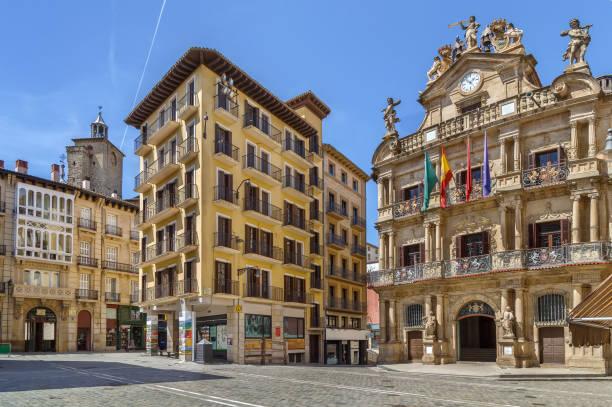 Platz in Pamplone, Spanien – Foto