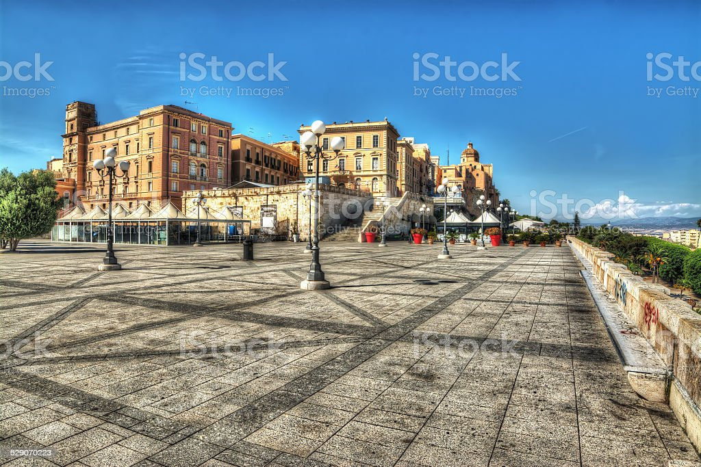 square in Saint Remy Bastion stock photo