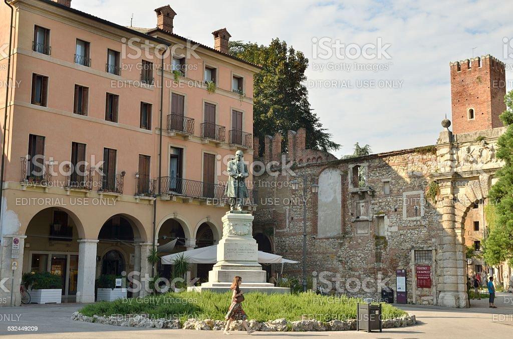 Square Matteotti stock photo