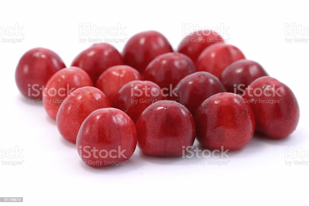 Square of cherries royalty-free stock photo