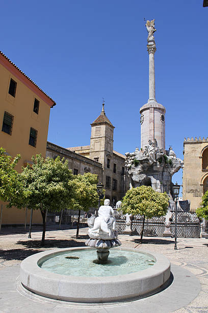 Square of San Rafael Triumph in Cordoba Square of San Rafael Triumph in Cordoba - Spain alas stock pictures, royalty-free photos & images