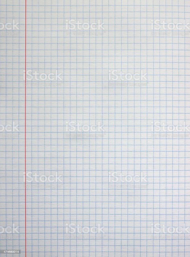 Square paper sheet stock photo