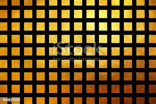 871774704istockphoto Square pattern golden texture shiny luxury abstract background 959843356