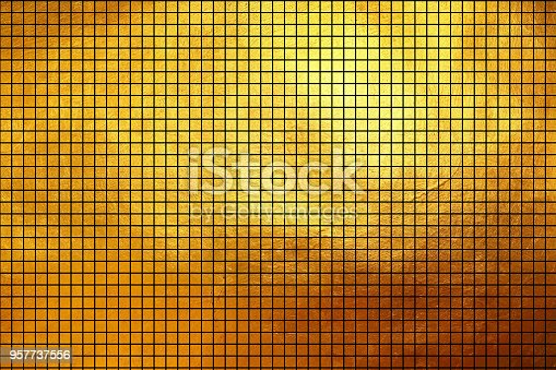 871774704istockphoto Square pattern golden texture shiny luxury gradient abstract 957737556