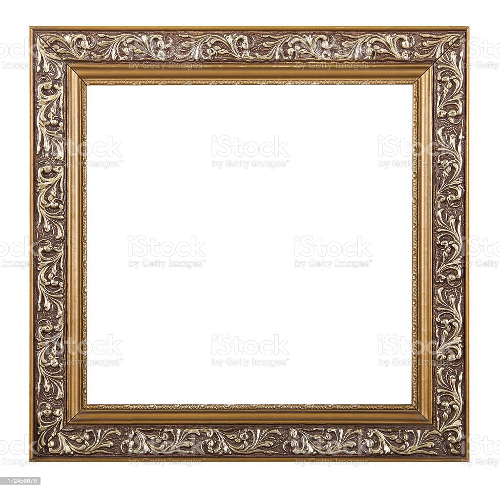 Square Picture Frame royalty-free stock photo