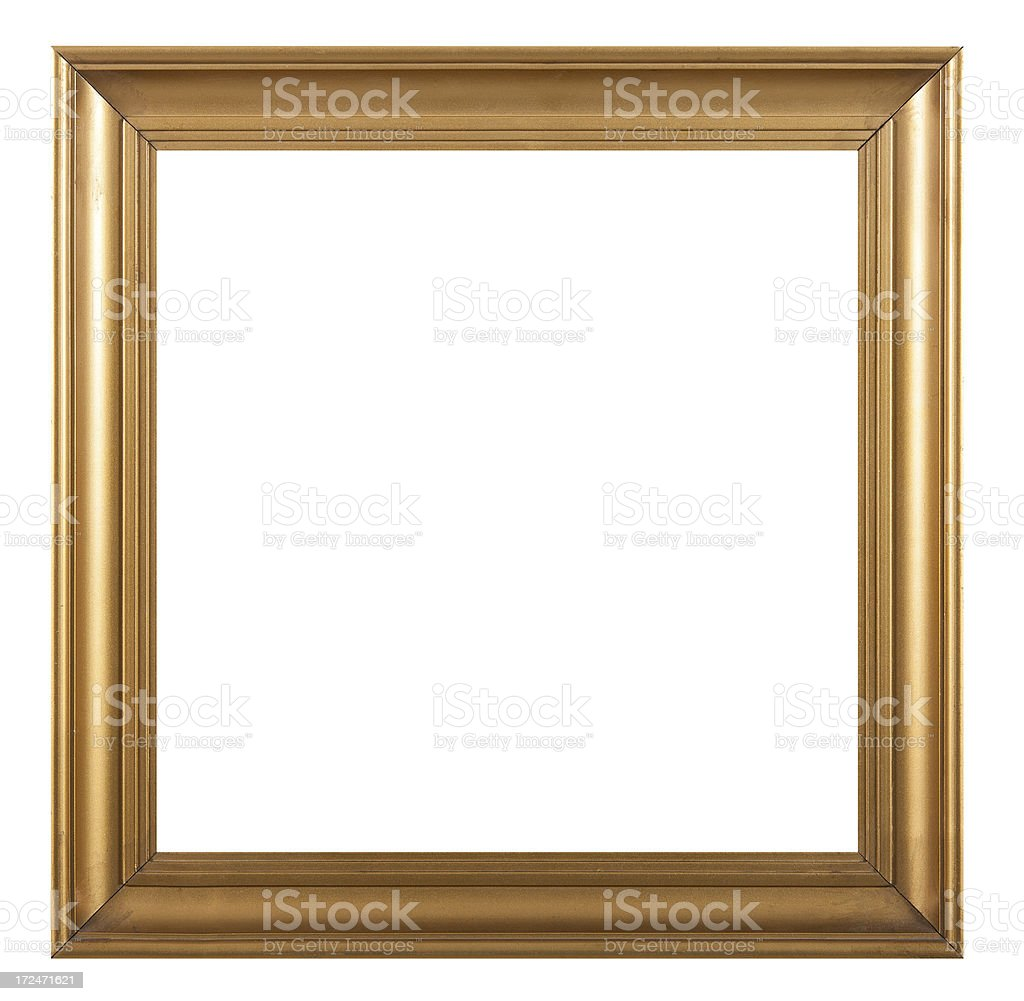 Square Picture Frame stock photo