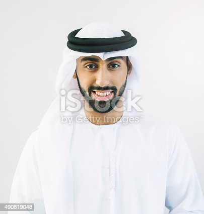 istock Square Portrait of Middle Eastern Man 490819048
