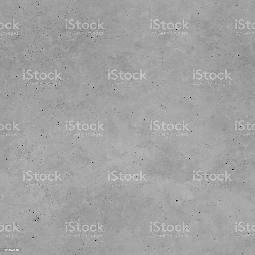 Square seamless unfinished dirty dark gray painted concrete tile background stock photo