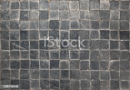 Square shape stone wall