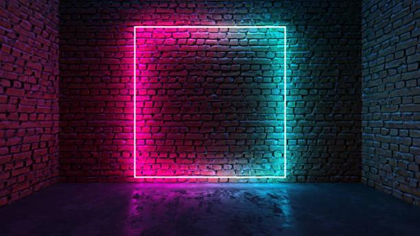 Square shaped glowing neon frame on brick wall in dark room picture id1178919089?b=1&k=6&m=1178919089&s=612x612&w=0&h=cd2iluljknb7e27tofzxqygi7qtva8wiub dady9rbm=