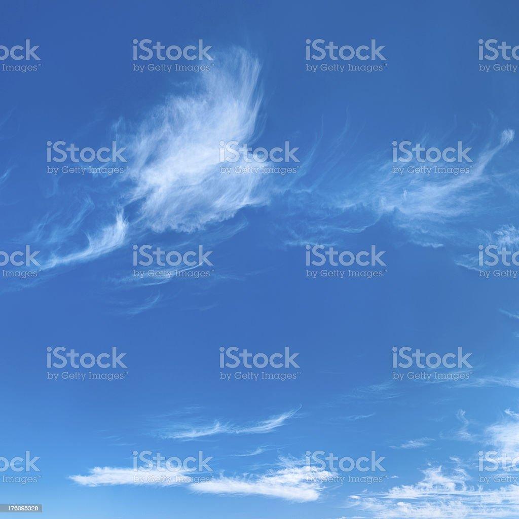 Square sky view 100MPix XXXXL size royalty-free stock photo