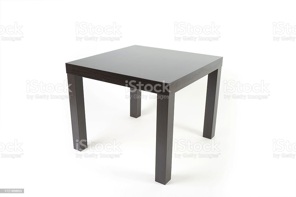 Square table royalty-free stock photo