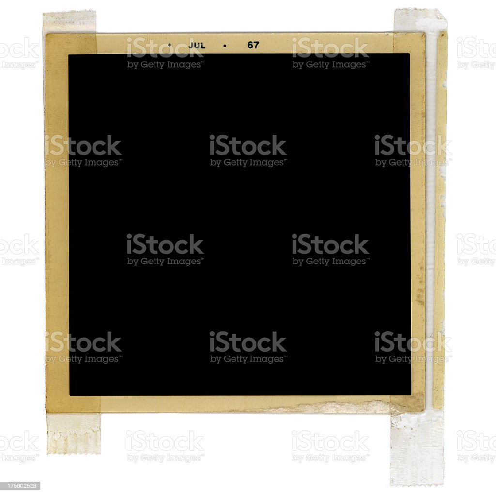 square taped frame royalty-free stock photo