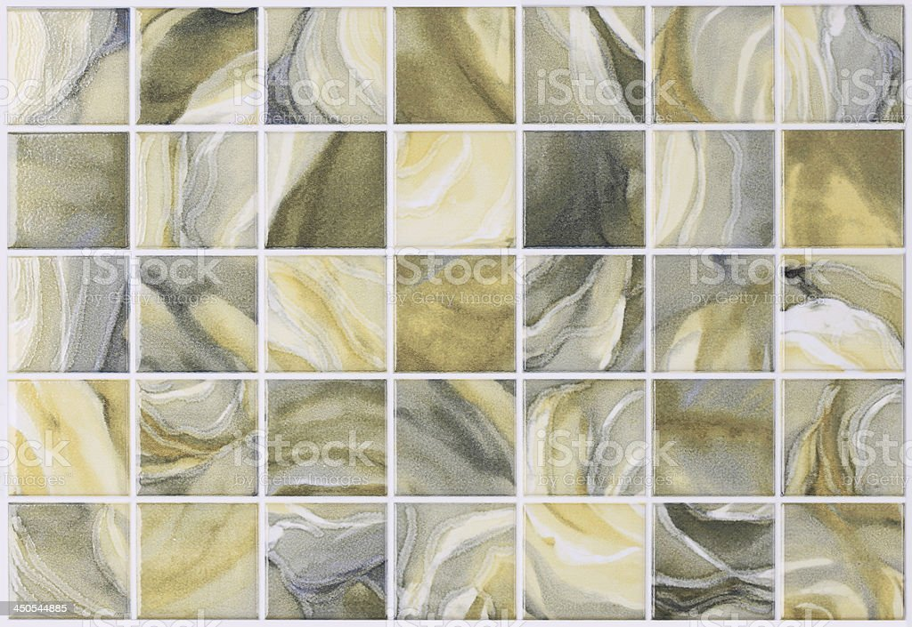 square tiles in marble with colorful effects royalty-free stock photo