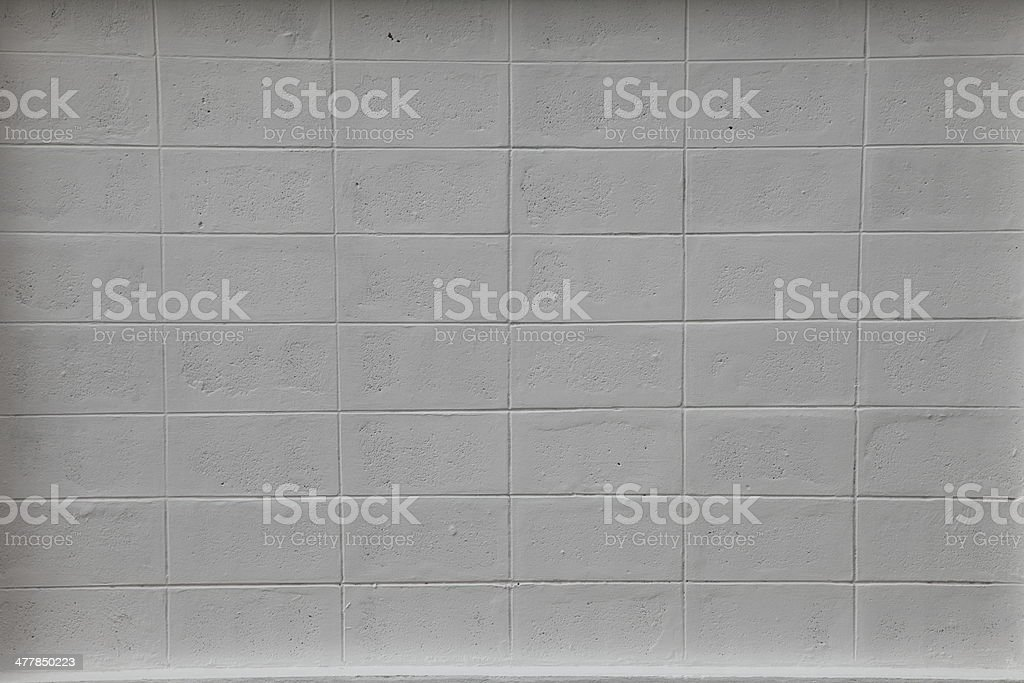 Square white brick wall background royalty-free stock photo