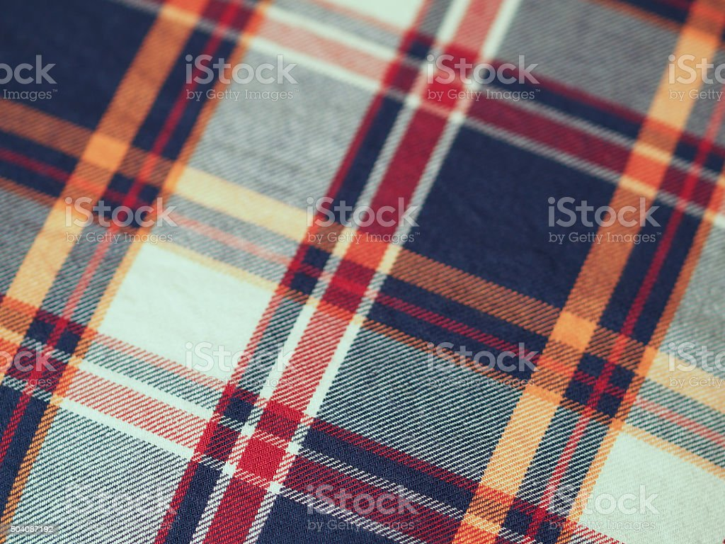 Squared diagonal fabric stock photo