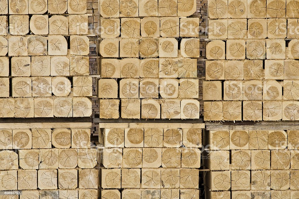 Squares of wood royalty-free stock photo