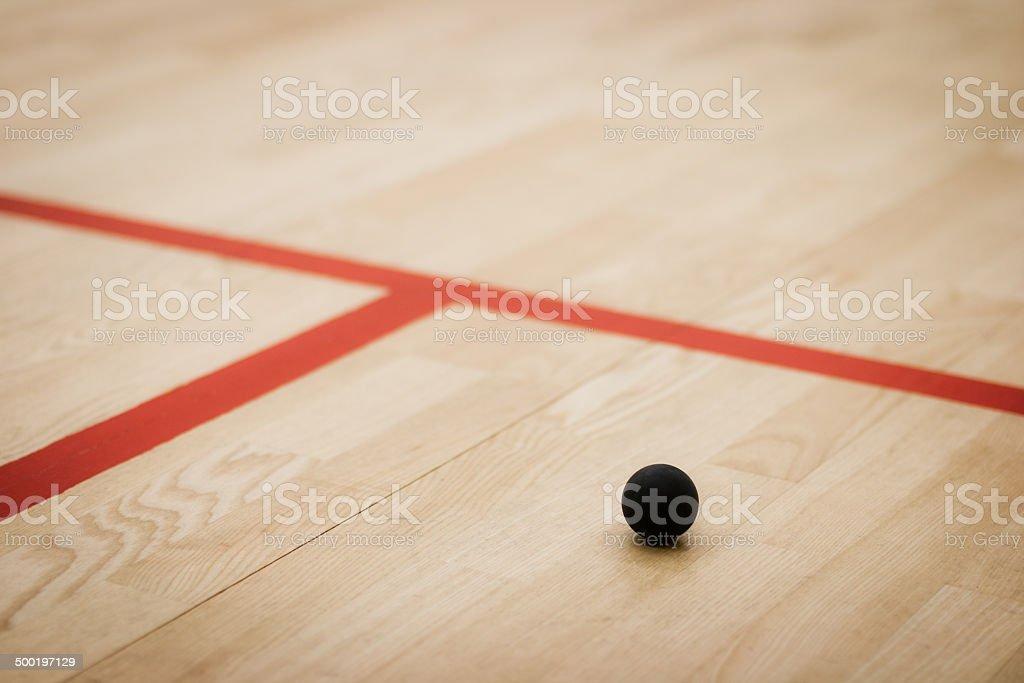 Squash ball stock photo