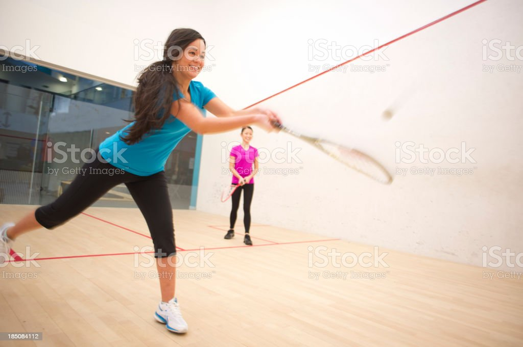 squash game royalty-free stock photo