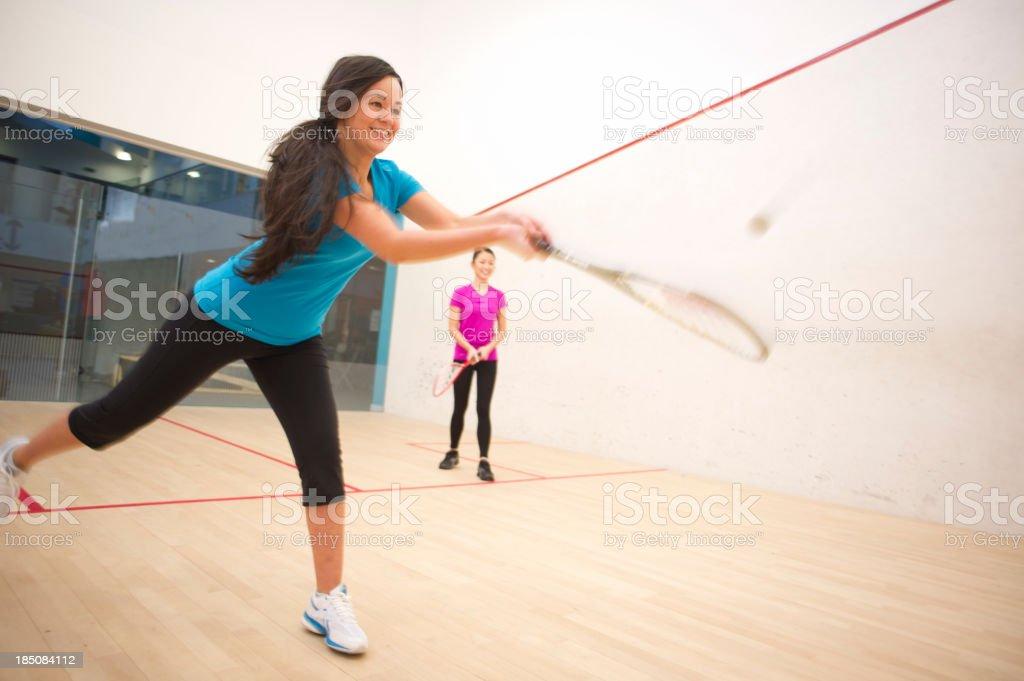 squash game stock photo
