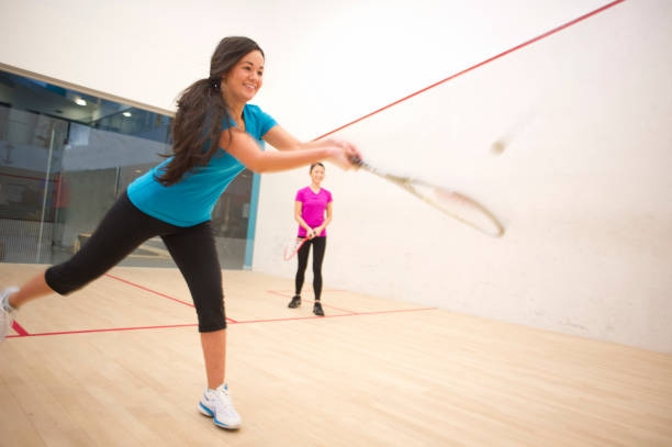 squash game - racket sport stock pictures, royalty-free photos & images