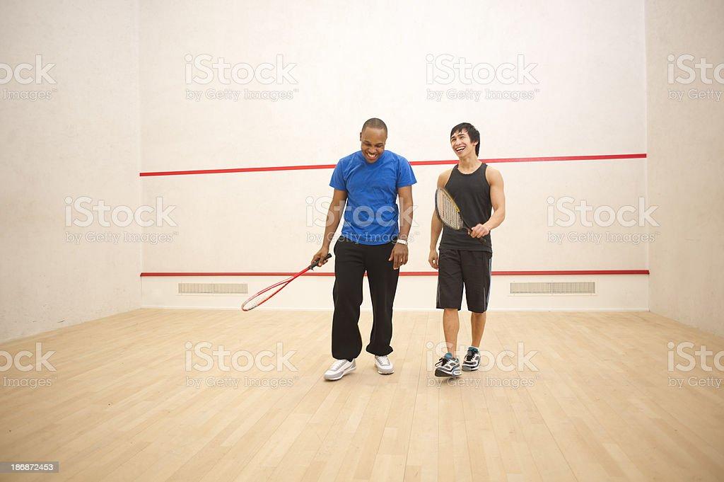 squash pals stock photo