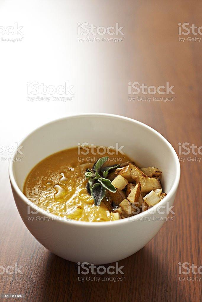 Squash Soup royalty-free stock photo