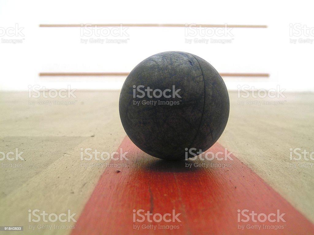 Squashball royalty-free stock photo