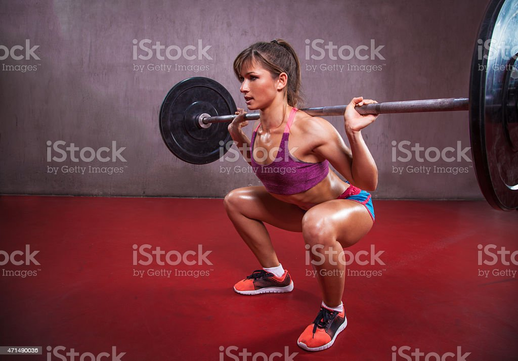 Squats stock photo