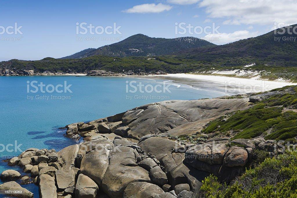 Squeaky Beach stock photo