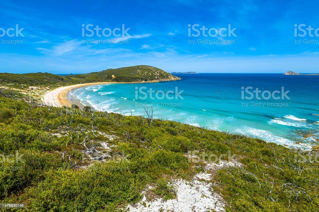 Squeaky Beach Victoria stock photo