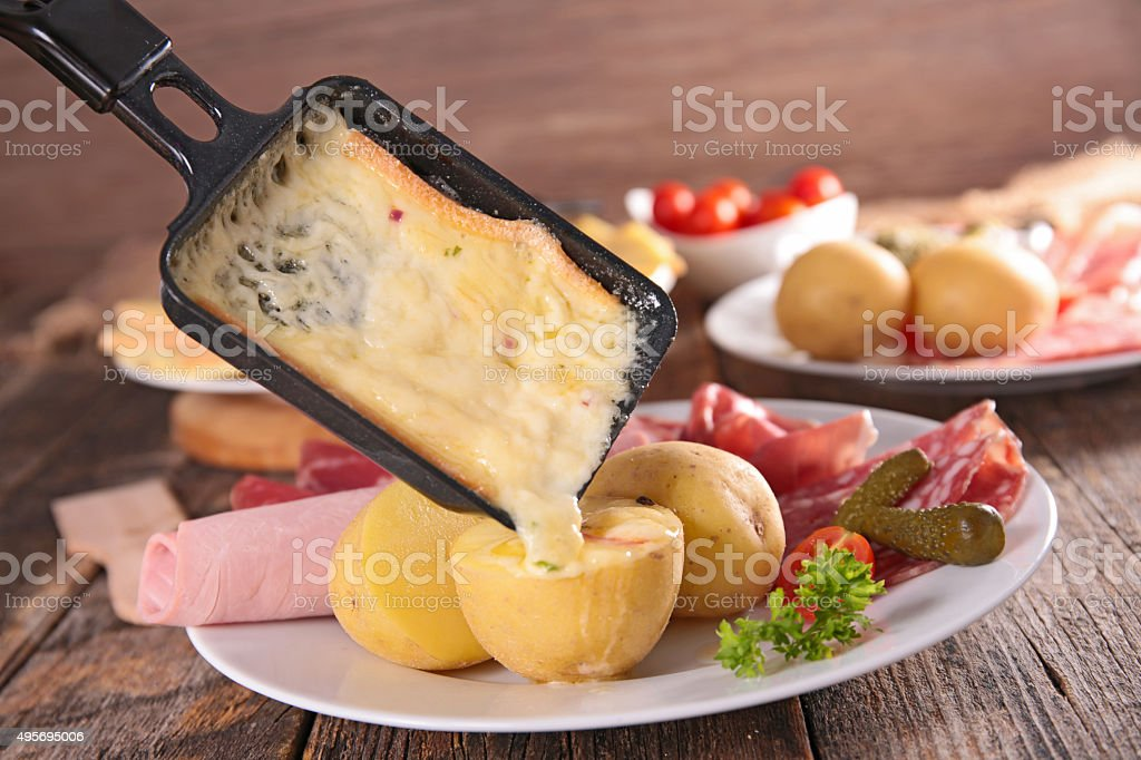 Raclette Pictures, Images and Stock Photos - iStock | {Raclette 4}