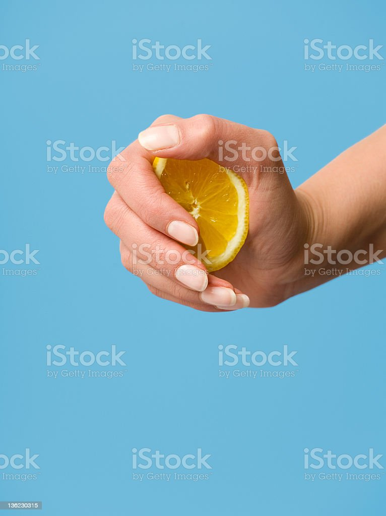 Squeeze It royalty-free stock photo