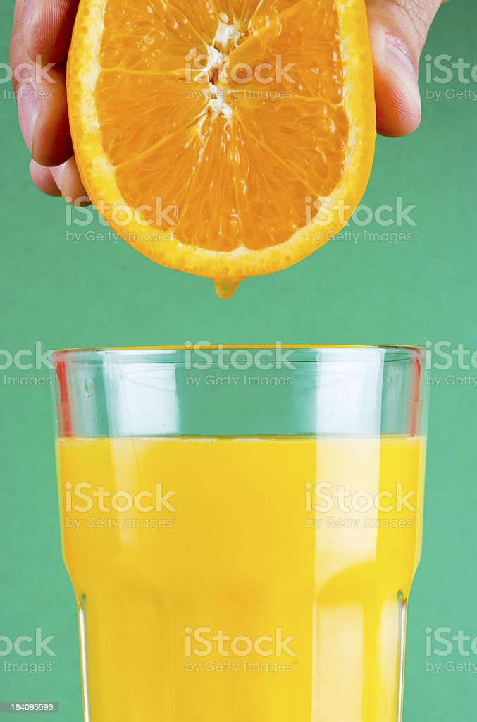Squeeze it! stock photo