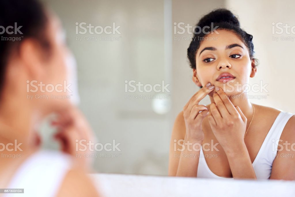 Squeezing will only make it worse stock photo