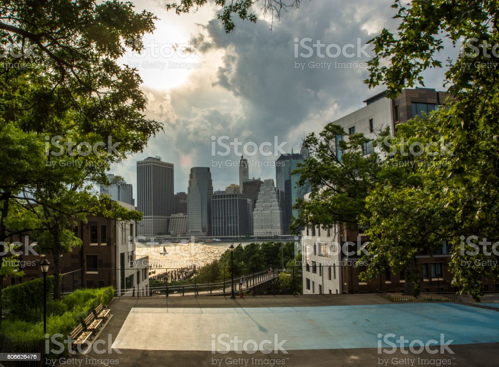 Squibb Park stock photo