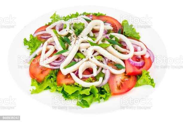 Squid rings with leaves of green salad and tomatoes picture id946938242?b=1&k=6&m=946938242&s=612x612&h=v31wxv 73ugu5lsxroeii126jtlww5jvlskt47bl99o=