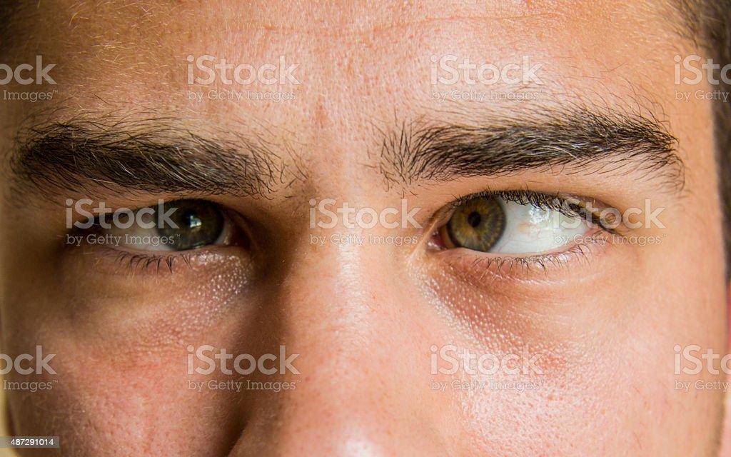 Augen zukneifen Augen – Foto