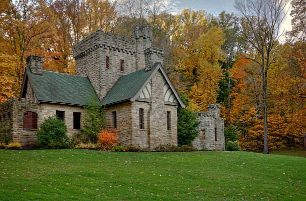 Squire's Castle stock photo