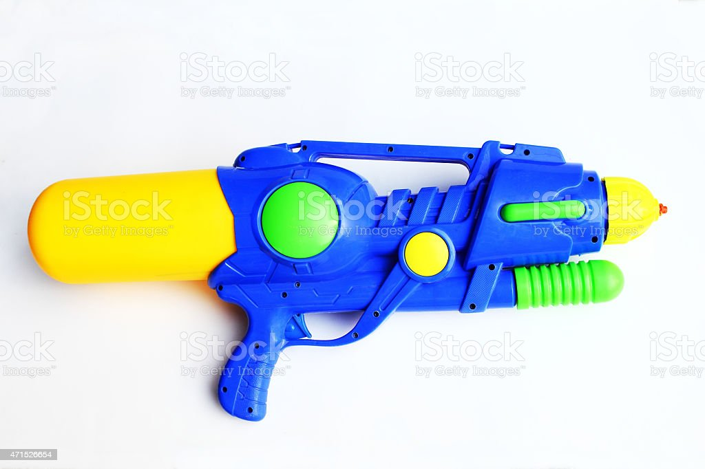 Squirt Gun stock photo
