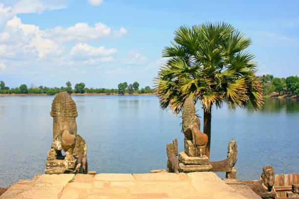 Srah Srang in Siem Reap stock photo
