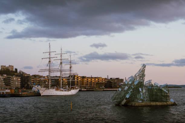 Sørenga, Oslo stock photo