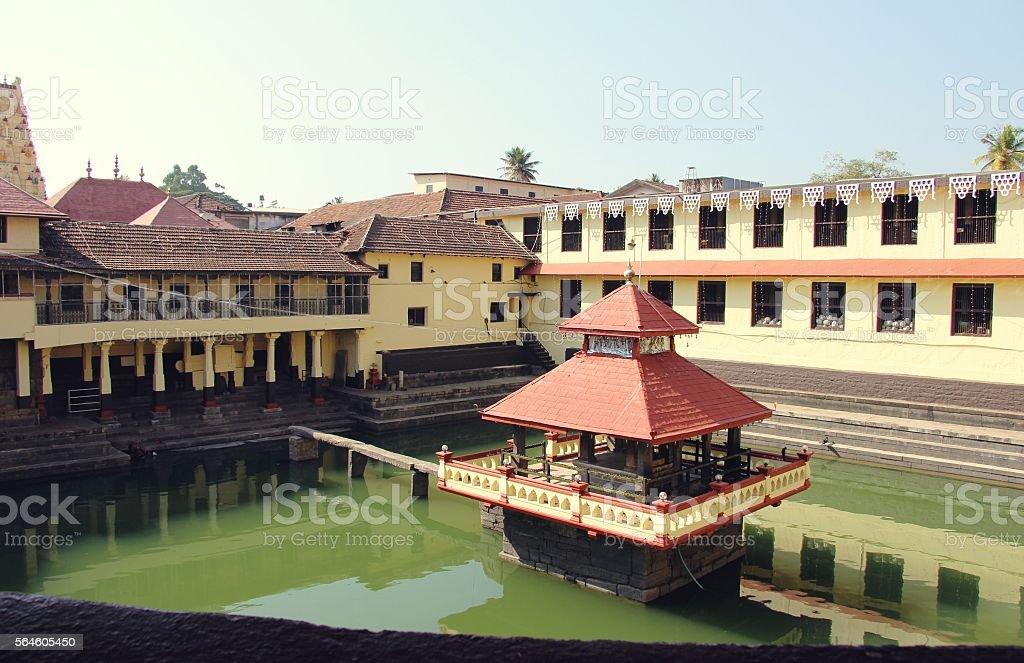 Sri Krishna Matha temple - Udupi, Karnataka, India. stock photo