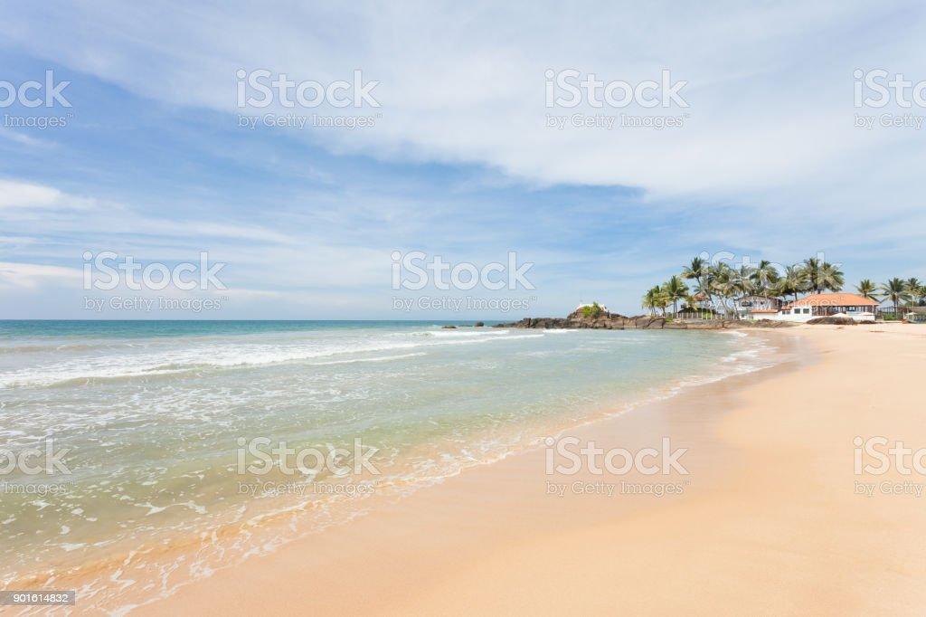 Sri Lanka - Ahungalla - beeindruckt von der idyllischen Strand Landschaft – Foto