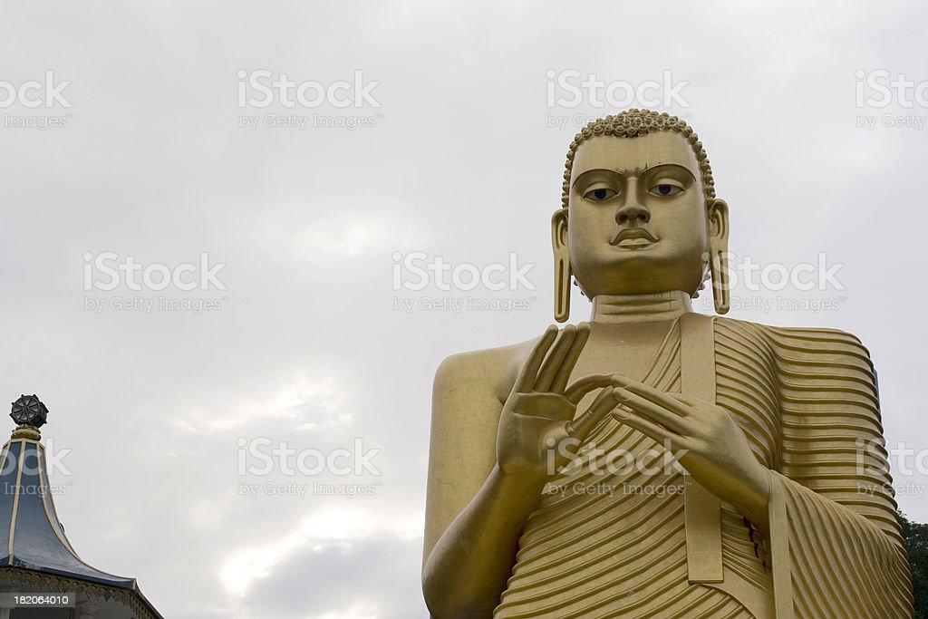 Sri Lanka: Buddha royalty-free stock photo