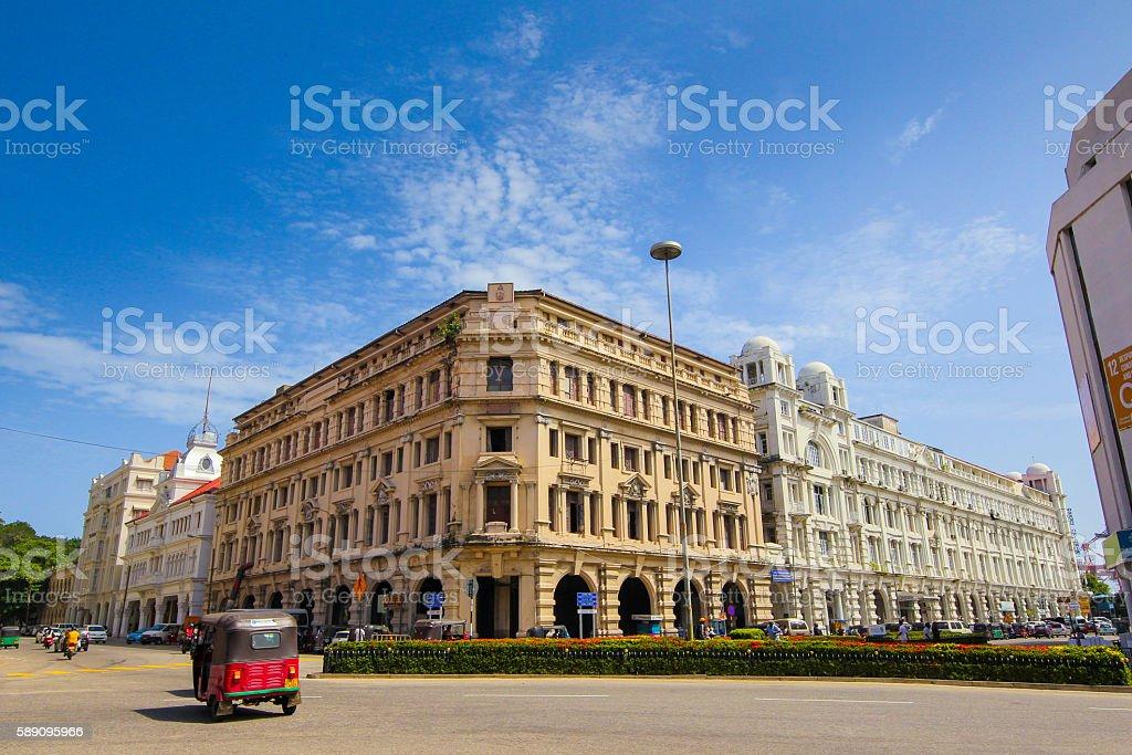 Sri Lanka, Colombo, Fort area, , York, street, york st stock photo