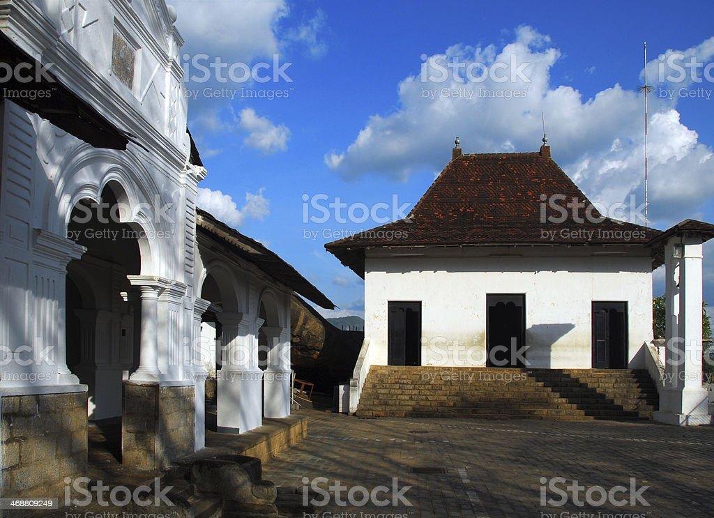 Sri Lanka: Golden Temple of Dambulla stock photo