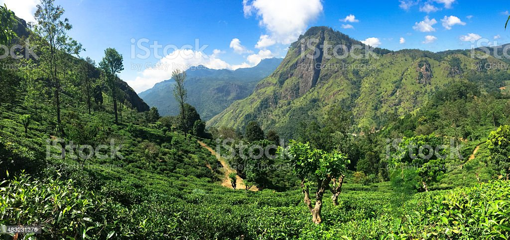 Sri Lanka scenery stock photo